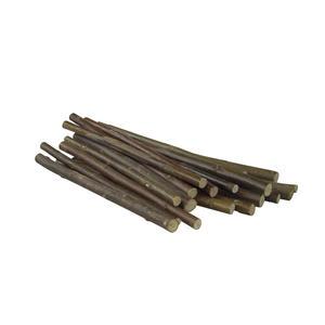 Weidenhölzer zum knabbern, 18 Stück, 20cm