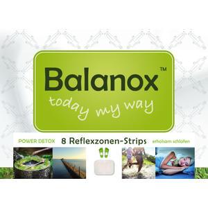Balanox™ Reflexzonen-Strips | Power Detox Fuss Pflaster | Reflexzonen-Behandlung über Nacht | erholsam schlafen