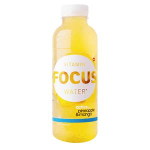 Focuswater Active Ananas & Mango 12 x 0.5 Liter