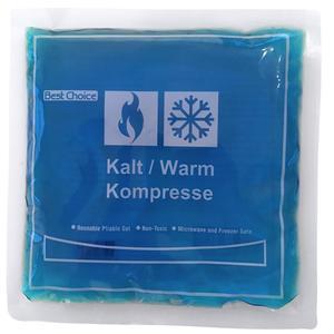 Kompresse Kalt/Warm 15 x15 cm microwellengeeignet