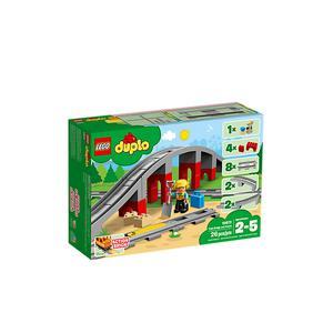 LEGO DUPLO, Eisenbahnbrücke und Schienen, 10872