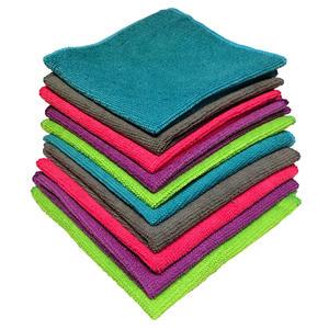 Lifetime Clean Mikrofasertücher - Reinigungstücher, 30 x 30 cm, Packung mit 10 Stück