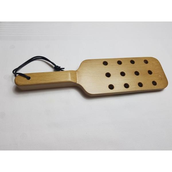 Spanking Paddle aus Holz für spannende BDSM Sessions