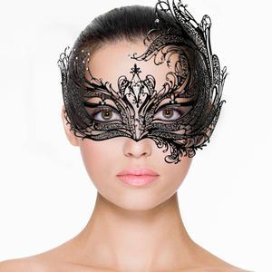 Venezianische Maske in schwarz von Easy Toys