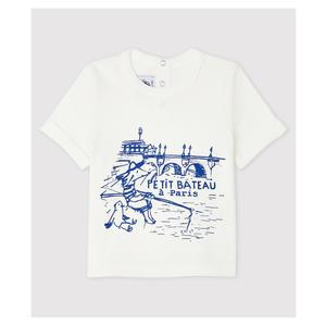 Kurzärmeliges Baby-T-Shirt aus Baumwolle
