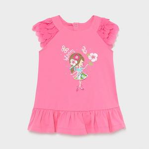 Baby Kleid Rüschen Bloom Rosa