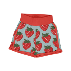 Kurze Shorts Erdbeere