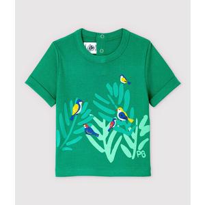 T-Shirt Birds aus Baumwolle