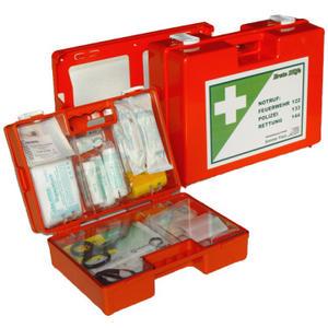 Erste Hilfe Koffer Kunststoff ÖNORM Z1020 Typ 1 20 Jahre Haltbarkeit