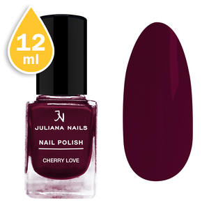 Nagellack Juliana Nails 12ml - cherry love