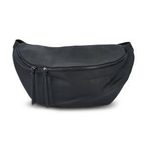 Top aktuelle big size Hüfttasche / Bauchtasche - schwarz