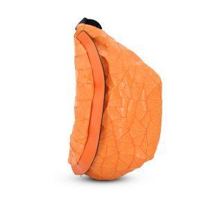 BIG SIZE Bauchtasche Kunstleder - orange
