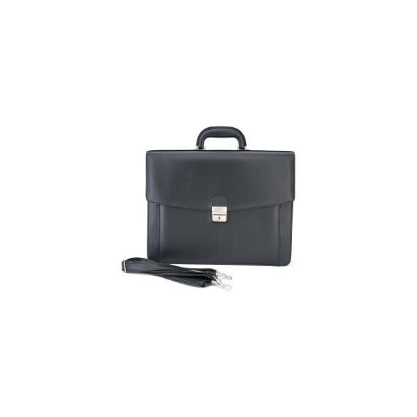 Aktenkoffer / Aktentasche Kunstleder mit einem Schlüssel verschließbar