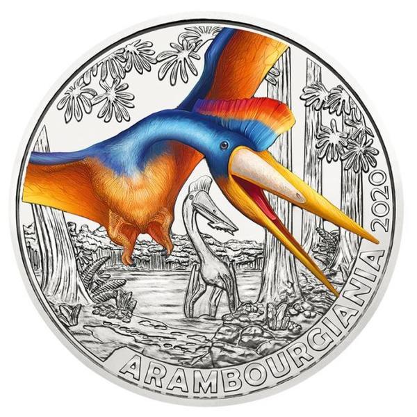 3€ Dinotaler 2020 - Arambourgiania Philadelphiae #3