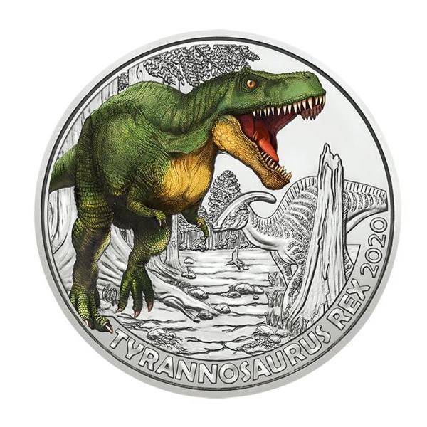 3€ Dinotaler 2020 - T - Rex #5
