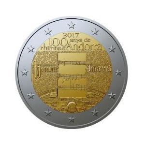 Andorra 2€ Gedenkmünze 2017 - 100 Jahre Hymne