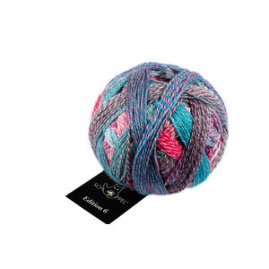 Edition 6 _ 100% Schurwolle (Merino fine, superwash) - Rosetta