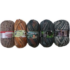 6-fach Sockenwolle - Abverkaufspaket