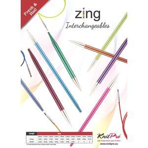 KnitPro - ZING wechselbare Nadelspitzen 4.0mm lang