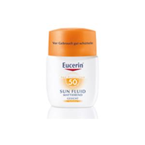 Eucerin SUN FLUID LSF 50+ für normale bis Mischhaut