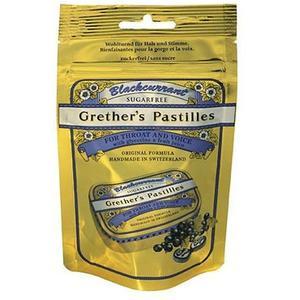 Grether's Pastilles Blackcurrant Zuckerfrei BTL