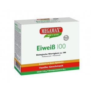 MEGAMAX Eiweiss 100 Vanille