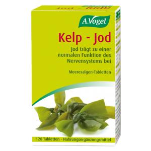 Kelp – Jod Meeresalgen-Tabletten vegan