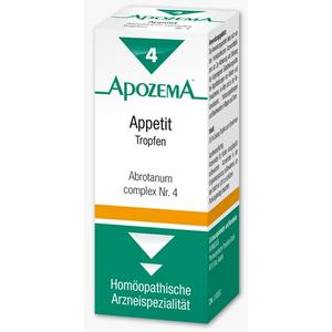 Apozema Appetit-Tropfen Nr. 4