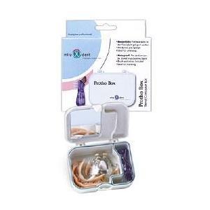 Miradent Prothesen-Box mit Bürste
