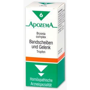 Apozema Bandscheiben-und Gelenk-Tropfen Nr. 6