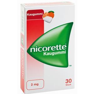 Nicorette Kaugummi 2mg Freshfruit