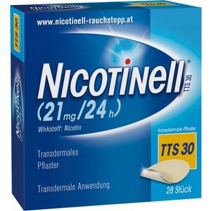 Nicotinell® TTS 30 transdermale Pflaster