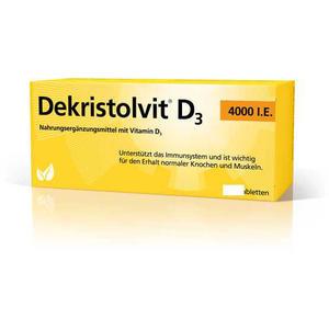Dekristolvit Vitamin D3 Tabletten 4.000 IE