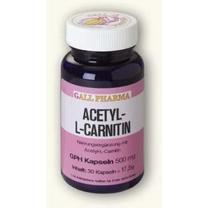 Acetyl-L-Carnitin Kapseln 500mg