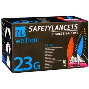 Wellion SafetyLancets 23G