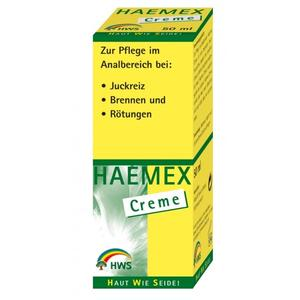 Haemex Creme gegen Hämorrhoiden 50ml