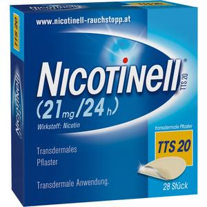 Nicotinell® TTS 20 transdermale Pflaster