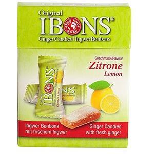 IBONS Zitrone Ingwerkaubonbons