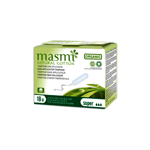 Masmi Organic Care - Bio Tampons Super