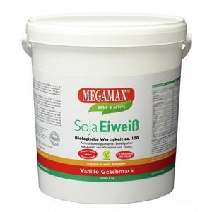 MEGAMAX Soja Eiweiss Getränkepulver Vanille