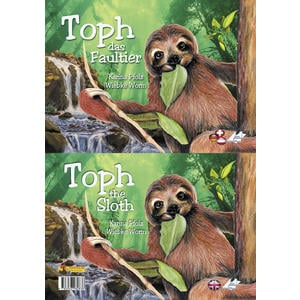 Toph das Faultier/Toph the Sloth – 2-sprachiges Kinderbuch Deutsch/Englisch