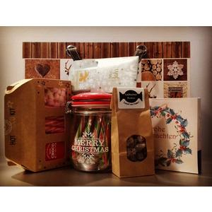 Weihnachtsgeschenkeset mit klassischer Trüffelpralines