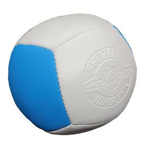 Jonglierball Filzis Cube 130g, weiss-blau