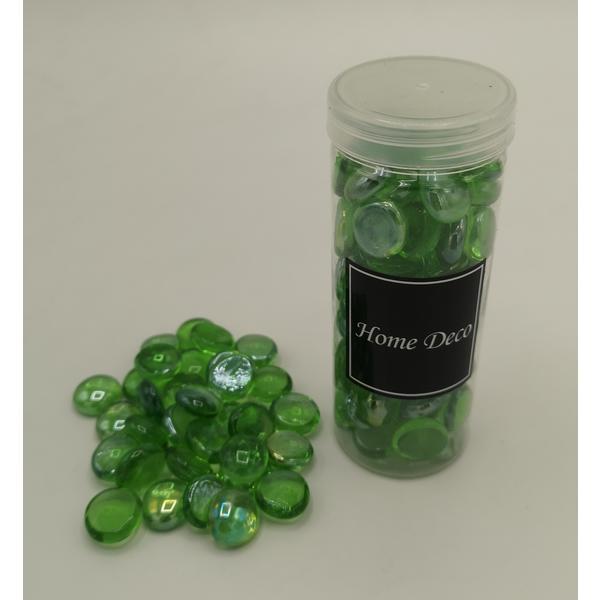 Deko-Glasnuggets, ca. 400 g grün