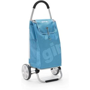 Vileda Galaxy Einkaufstrolley, Alluminium, Polyester, blau