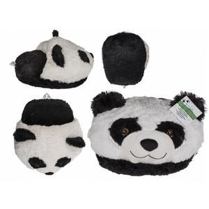 Kuschel-Fußwärmer, Panda