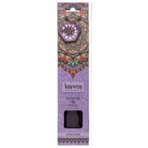Räucherstäbchen Lavendel mit Deko Halter 40 Stück