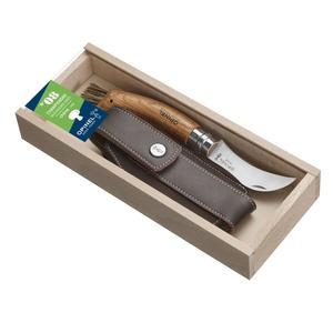 Pilzmesser Nr°8 Set mit Etui in einer Holzbox