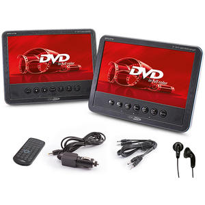 """CALIBER MPD 278 7"""" Aktiv/Passiv DVD-USB Playerset"""
