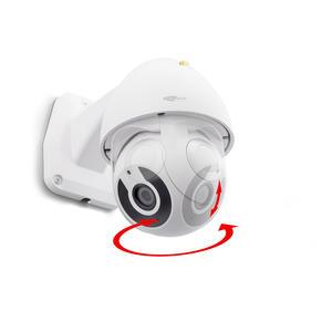 Smarthome Caliber HWC403PT Outdoor Kamera HD 1080P, IP66, APP, Tuya, Smart-Following, Dreh/Schwenkbar über App, Bewegungserkennung